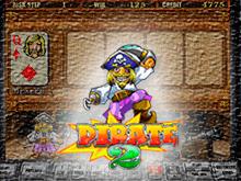 Сорвать выигрыш в Pirate 2 от Igrosoft в казино Вулкан
