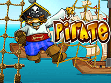 Игра на деньги в виртуальном казино в слоте Pirate