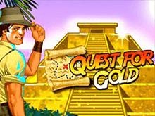Играть в виртуальный онлайн автомат Quest For Gold