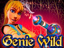 Исполнение желаний в азартном игровом автомате Genie Wild