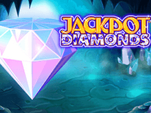 Играть онлайн в автомат Jackpot Diamonds - классика в казино