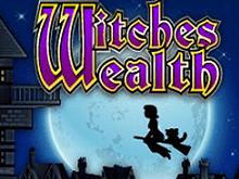 Азартный онлайн автомат Witches Wealth в игровом казино