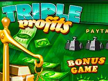 Быстрое пополнение и вывод денег в слоте Triple Profits
