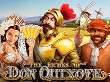 Играть в интернет-казино в автомате Богатство Дона Кихота