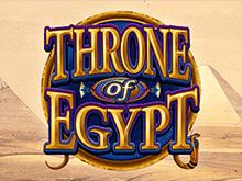 Бесплатная азартная онлайн-игра Египетский Трон