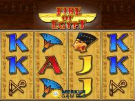 Игра онлайн с реальными ставками в азартный автомат Fire Of Egypt